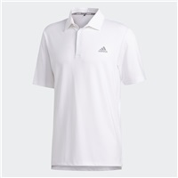 Adidas Ultimate 365 2.0 Solid Polo Shirt White
