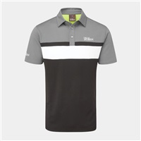 Oscar Jacobson Boston Polo Shirt Black/Pewter