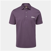 Oscar Jacobson Chap Tour Polo Shirt Plum
