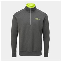 Oscar Jacobson Trent Tour Mid Layer Pewter