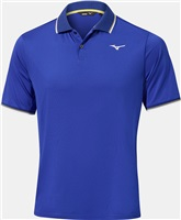 Mizuno Quick Dry Performance Plus Polo Shirt Reflex Blue