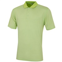 Island Green Marl Polo Shirt Punchy Lime
