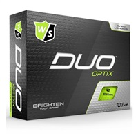 Wilson Duo Optix Golf Balls Green