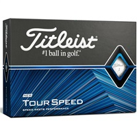 Titleist Titleist Tour Speed Golf Balls White