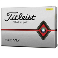 Titleist Pro V1X Golf Balls Yellow 2019