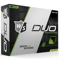 Wilson Duo Professional Golf Balls Green
