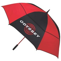 "Odyssey 68"" Double Canopy Umbrella Black/Red"