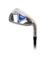 Ben Sayers One-Length M8 Golf Iron Set Steel Shaft Blue