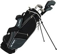 Ben Sayers M8 6-Club Package Set Graphite/Steel Shaft Stand Bag Black