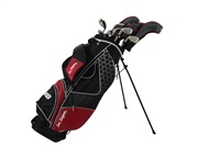 Ben Sayers M8 Golf Package Set Graphite/Steel Shaft Stand Bag Red