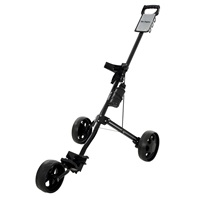 Ben Sayers Three-Wheel Trolley Black