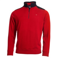 Calvin Klein Golf Extend Lined Sweater Red