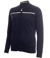 Green Lamb Ladies Greta Ottoman Windbarrier Cardigan Navy