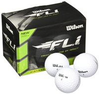Wilson FLI Golf Ball White