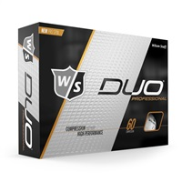 Wilson Duo Professional Golf Balls White