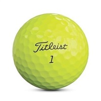 Titleist Pro V1 Golf Balls Yellow 2019