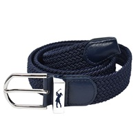 Surprize Shop Ladies Stretch Webbing Golf Belt Navy