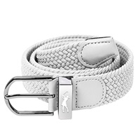 Surprize Shop Ladies Stretch Webbing Golf Belt White