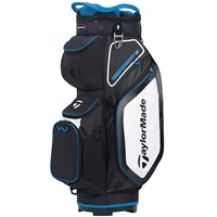 TaylorMade 2020 Pro 8.0 Golf Cart Bag Black/White/Blue