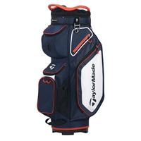 TaylorMade 2020 Pro 8.0 Golf Cart Bag Navy/White/Red