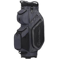 TaylorMade 2020 Pro 8.0 Golf Cart Bag Charcoal/Black