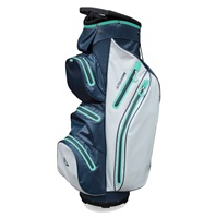 Masters Tourdri Waterproof Golf Cart Bag Grey/Navy/Mint