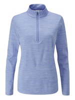 Ping Ladies Skye Half Zip Golf Top Dark Grapemist/White