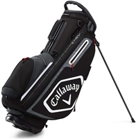 Callaway 2020 Chev Golf Stand Bag Black/White/Titanium
