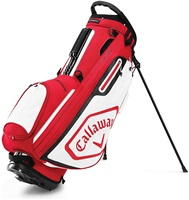 Callaway 2020 Chev Golf Stand Bag Cardinal/White