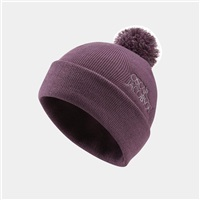Oscar Jacobson Knitted II Bobble Golf Beanie Plum