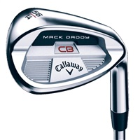 Callaway Mack Daddy CB Brushed Chrome Golf Wedge RH
