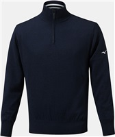 Mizuno Windproof Lined Sweater Deep Navy