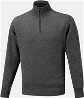 Mizuno Windproof Lined Sweater Grey