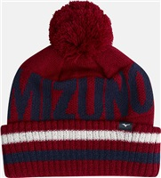 Mizuno BT Bobble Hat Red