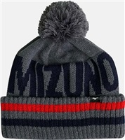 Mizuno BT Bobble Hat Deep Grey