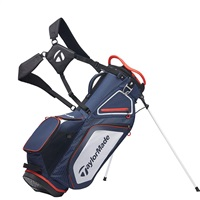 TaylorMade Pro 8.0 Stand Bag Navy/White/Red