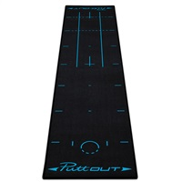 Puttout Deluxe Putting Mat Blue