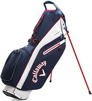 Callaway 2020 Fairway C Golf Stand Bag Navy/White/Red
