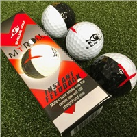 Masters EyeLine 3-Pack MyRoll Training Balls 2 Colour 50/50