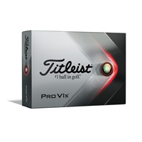 Titleist Pro V1x Golf Balls White 2021
