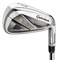 TaylorMade SIM2 Max Steel Shaft Irons Mens Left Hand