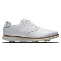 FootJoy Ladies Traditions Golf Shoes White