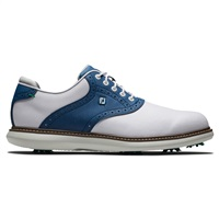 FootJoy Traditions Golf Shoes White/Navy