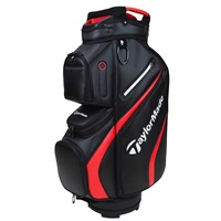 TaylorMade TM21 Deluxe Golf Cart Bag Black/Red