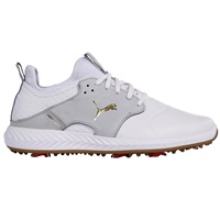 Puma Ignite PWRAdapt Caged Crafted Golf Shoes White/Grey