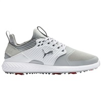 Puma Ignite PWR Adapt Cage Golf Shoes Violet/Silver/White