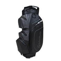 TaylorMade TM21 StormDry Waterproof Black/Charcoal Cart Bag