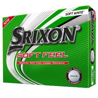 Srixon Soft Feel White Golf Balls