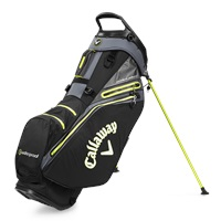 Callaway 2021 Hyper Dry 14 Golf Stand Bag Black/Yellow