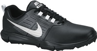 Nike Golf Explorer Golf Shoes Black Silver Grey